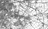 Old Map of Heavitree, 1887 - 1888