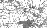 Old Map of Heckfordbridge, 1895 - 1896