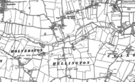 Old Map of Hellington, 1881
