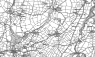 Old Map of Helstone, 1880 - 1905