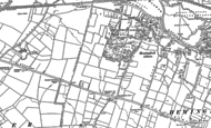 Old Map of Hemingford Abbots, 1885 - 1900