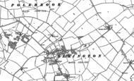 Old Map of Hemington, 1887 - 1899