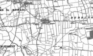 Old Map of Hempton, 1898