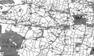 Old Map of Henbury, 1897