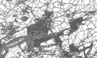 Old Map of Henbury, 1901