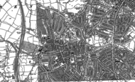 Old Map of Hendon, 1894 - 1896