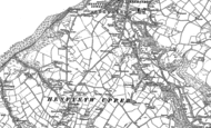 Old Map of Henfynyw, 1887 - 1904