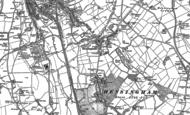 Old Map of Hensingham, 1923