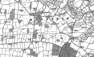 Old Map of Henstead, 1903