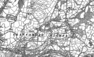 Old Map of Heol Las, 1897