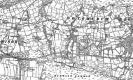 Old Map of Heol-y-Cyw, 1897