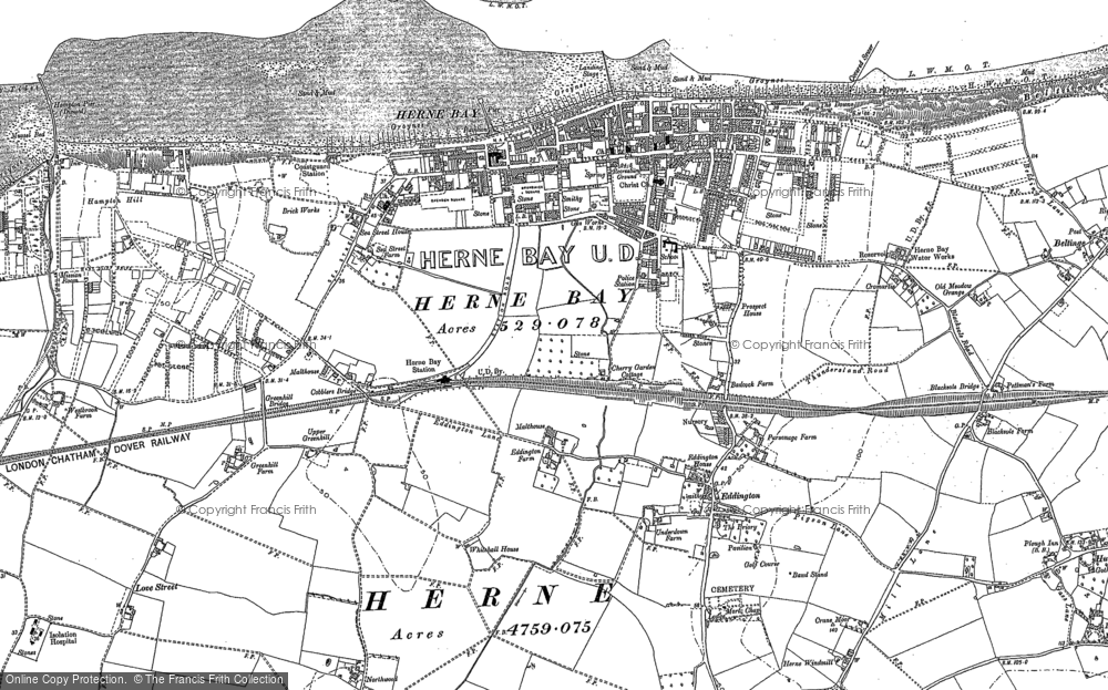 Old Maps of Herne Bay Francis Frith
