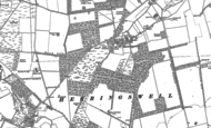 Old Map of Herringswell, 1881 - 1901