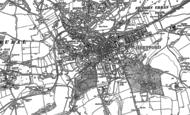 Old Map of Hertford, 1897