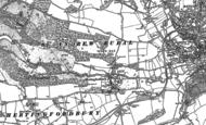 Old Map of Hertingfordbury, 1896 - 1897