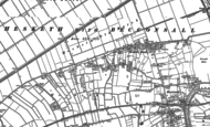 Old Map of Hesketh Bank, 1892