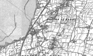 Old Map of Hest Bank, 1889 - 1911