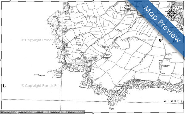 Historic map of Andurn Point
