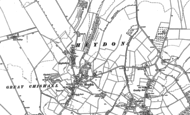 Old Map of Heydon, 1885 - 1901