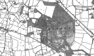 Old Map of Heydon, 1885