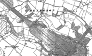 Old Map of Heythrop, 1898