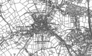 Old Map of High Barnet, 1913