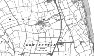 Old Map of High Buston, 1896 - 1898