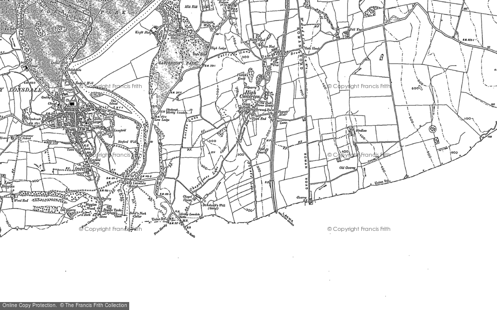 Old Map of High Casterton, 1897 - 1911 in 1897