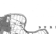 Old Map of High Coniscliffe, 1912 - 1913