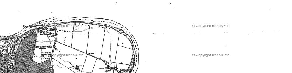 Old map of Lark Ho in 1912