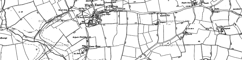 Old map of Armours in 1895