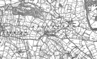 Old Map of High Ellington, 1890 - 1891
