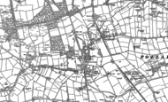 Old Map of High Etherley, 1896