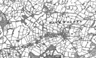 Old Map of High Halden, 1896 - 1897