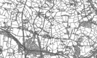 Old Map of High Lane, 1907
