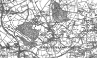 Old Map of High Littleton, 1883 - 1884