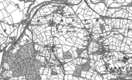 Old Map of Higham, 1851 - 1891