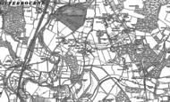Old Map of Highbridge, 1895