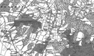 Old Map of Highclere, 1909 - 1938