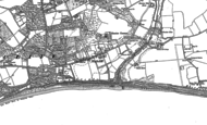 Old Map of Highcliffe, 1907