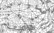 Old Map of Higher Hampt, 1905
