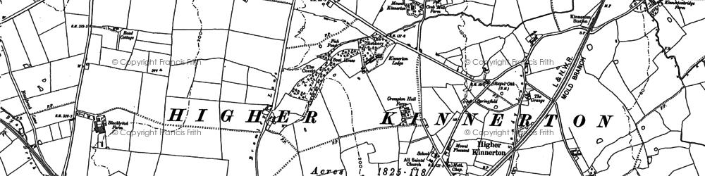 Old map of Babylon in 1898