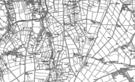 Old Map of Higher Penwartha, 1906