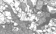 Old Map of Highmoor Cross, 1897