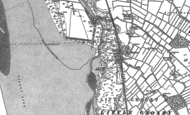 Old Map of Hightown, 1892 - 1906