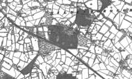 Old Map of Hildenborough, 1895
