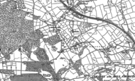 Old Map of Hill Chorlton, 1879