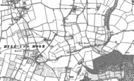 Old Map of Hill Furze, 1884