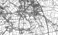 Old Map of Hill Top, 1886 - 1902