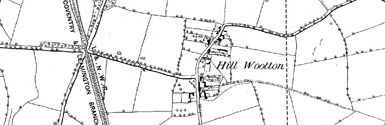 Old map of Blackdown Manor centred on your home